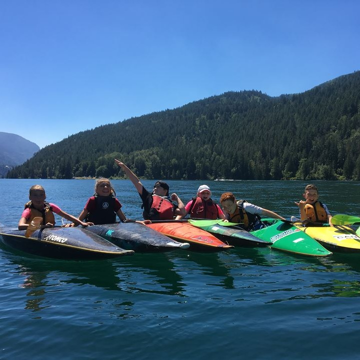 Youth Lake lessons - Our beginner youth programs are based out of our Cultus Lake boathouse and include week long Summer day camps as well as spring and fall programs. Our youth Intro to Kayaking program is geared toward ages 8-14 who are keen to experience our amazing sport. Our awesome instructors will help you learn the basics of kayaking on the lake.