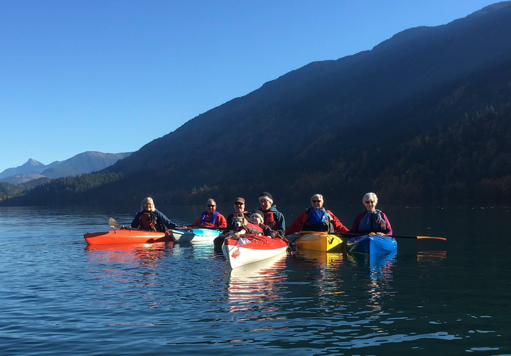 Cultus Lake Paddles - Click on the photo to learn more about our free volunteer-led, lake paddles.