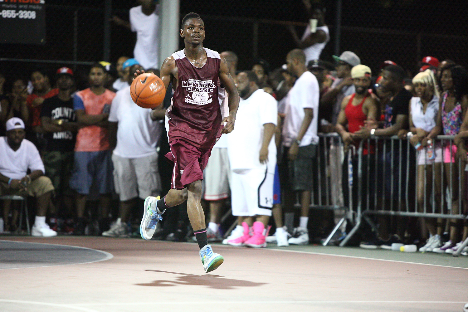 """Eian """"Eddy Kane"""" Davis has no fear, regardless of who he is matched up with, when he laces up his kicks and takes the court. He dropped 26 points in a game where he was matched up against Kemba Walker."""