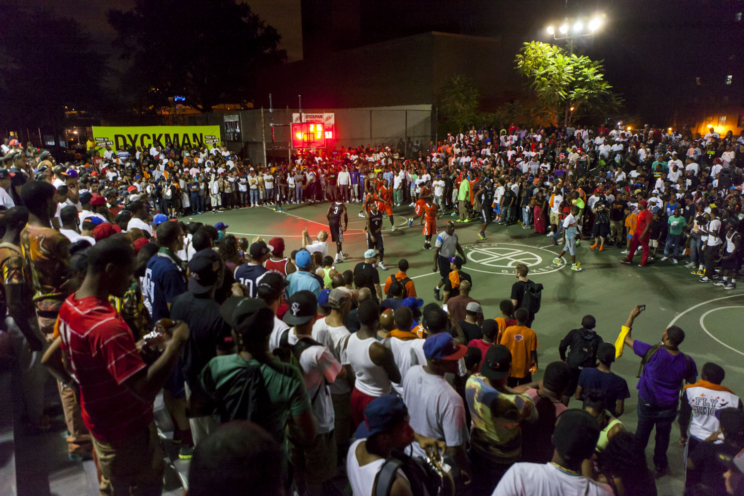 Dyckman Park was flooded with fans who simply could not miss the match up between Vampire Life and Skull Gang.