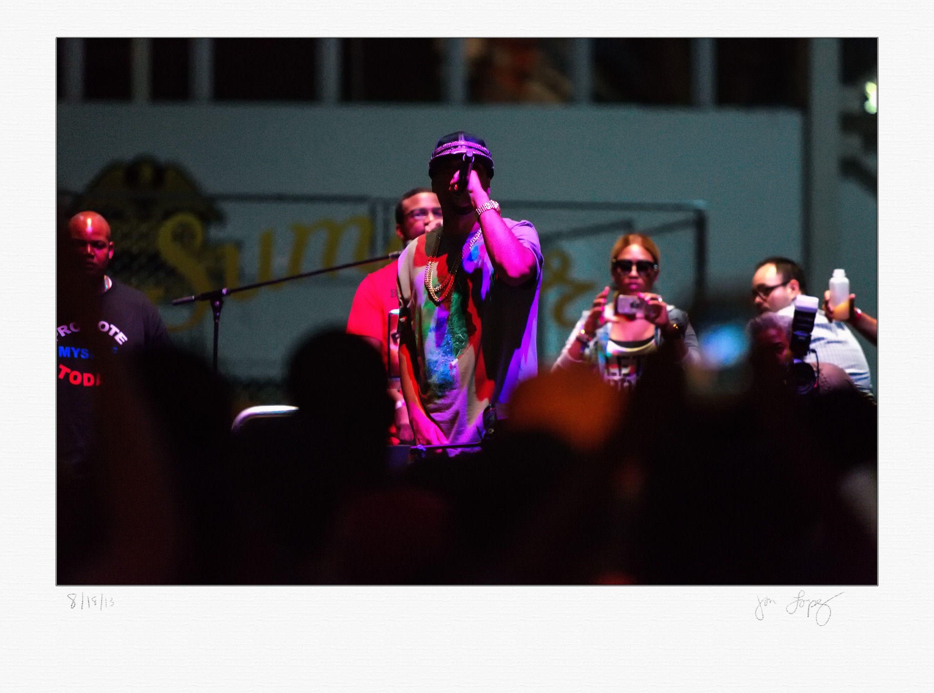 Bronx-native rapper French Montana performed some of his songs after Chicago won the championship.