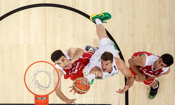 2014 FIBA Basketball World Cup. BRA vs IRI.