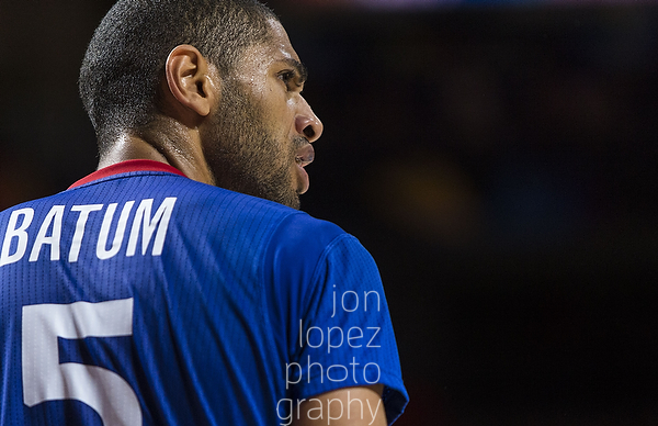 2014 FIBA Basketball World Cup. LTU vs FRA. Quarter Finals.