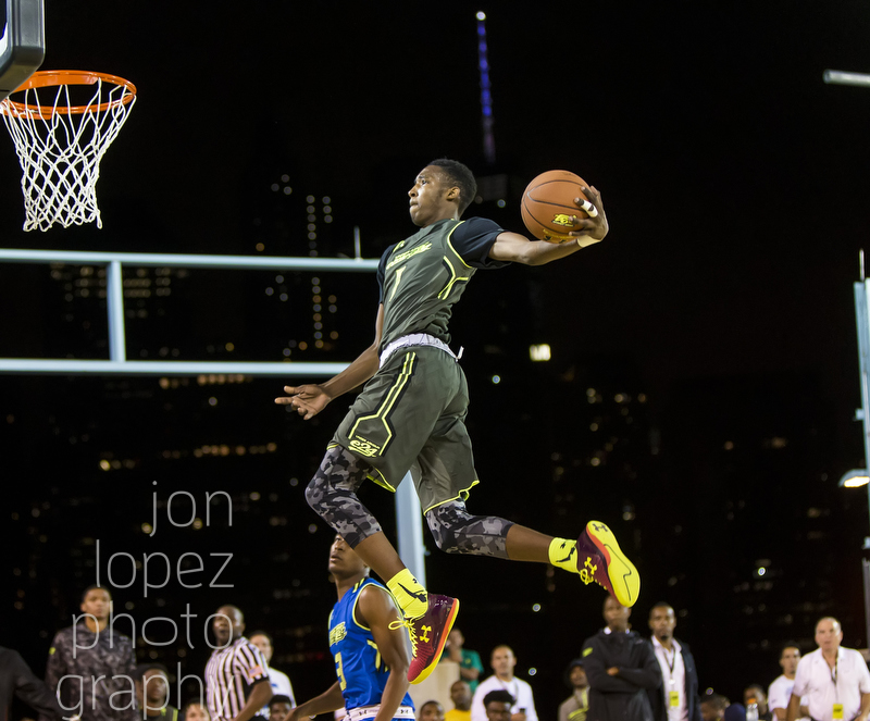 With the Freedom Tower peering down on the court in Brooklyn, the Elite 24 found one of the greatest outdoor venues for an all-american game ever in 2014.