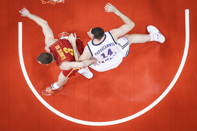 NANJING, CHINA Sunday, September 1, 2019 - New Zealand vs Brazil during the first round of the FIBA Basketball World Cup in Nanjing, Jiangsu China. NOTE TO USER: Mandatory Copyright Notice: Photo by Jon Lopez / IG: @jonlopez13