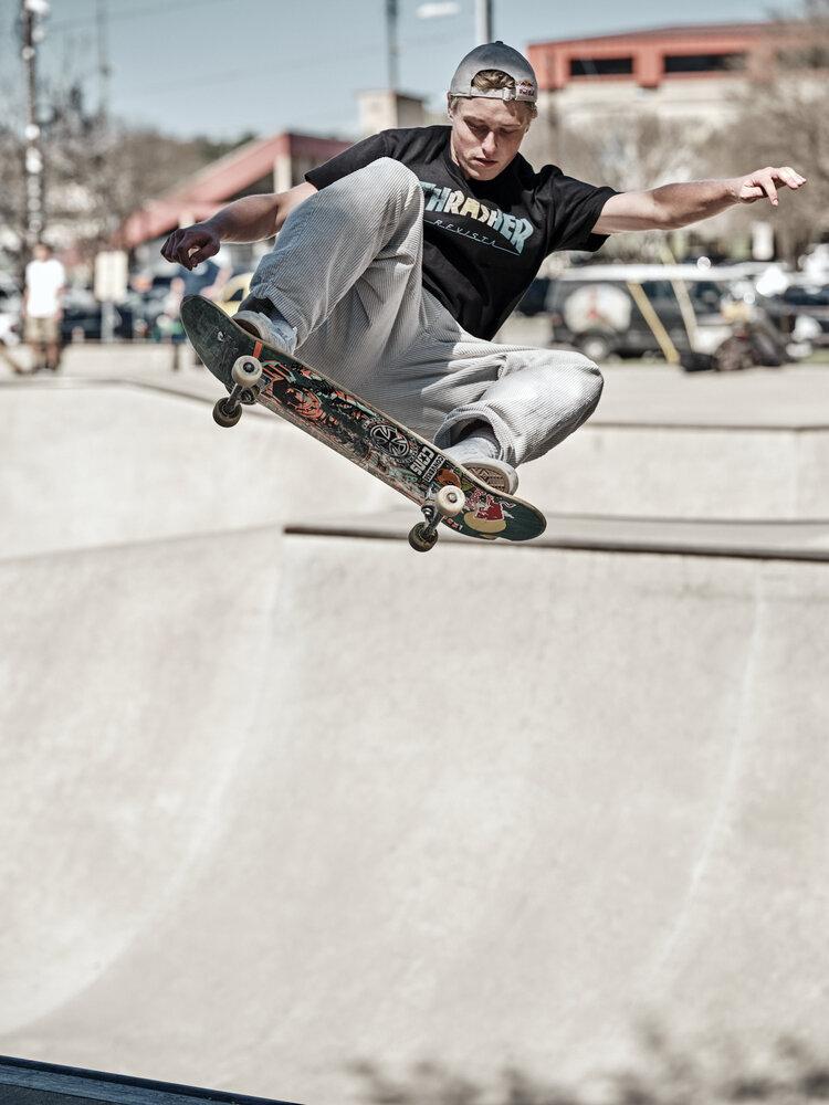 AUSTIN, TX January 25, 2020 - House Skate Park, TX day two.NOTE TO USER: Mandatory Copyright Notice: Photo by Jon Lopez