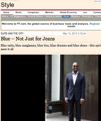 Financial Times -Suits and the City Blog