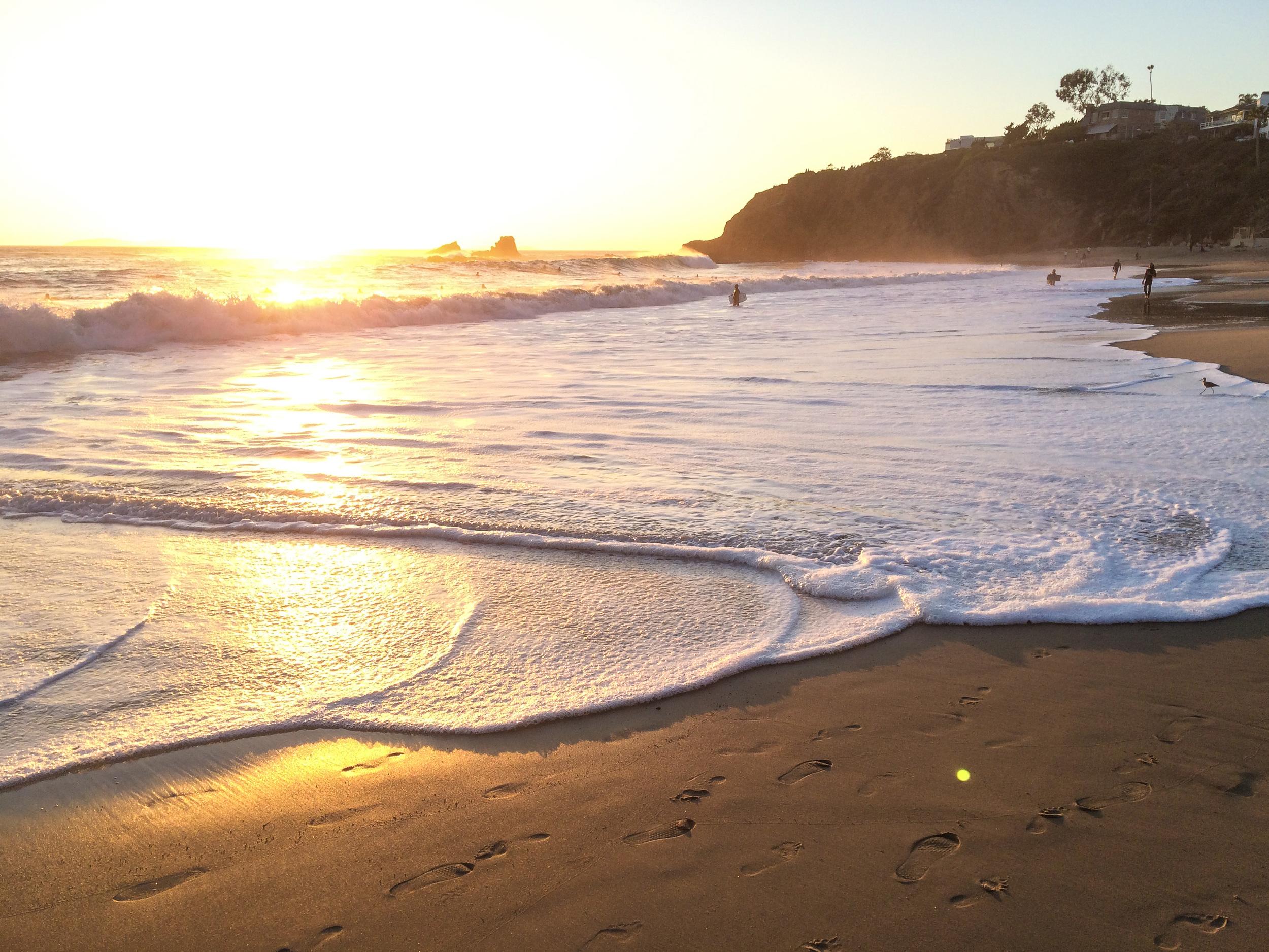 Shore break sessions.