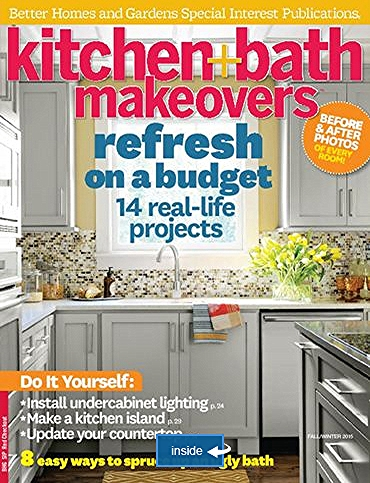 Kitchen & Bath Makeovers Fall 2015
