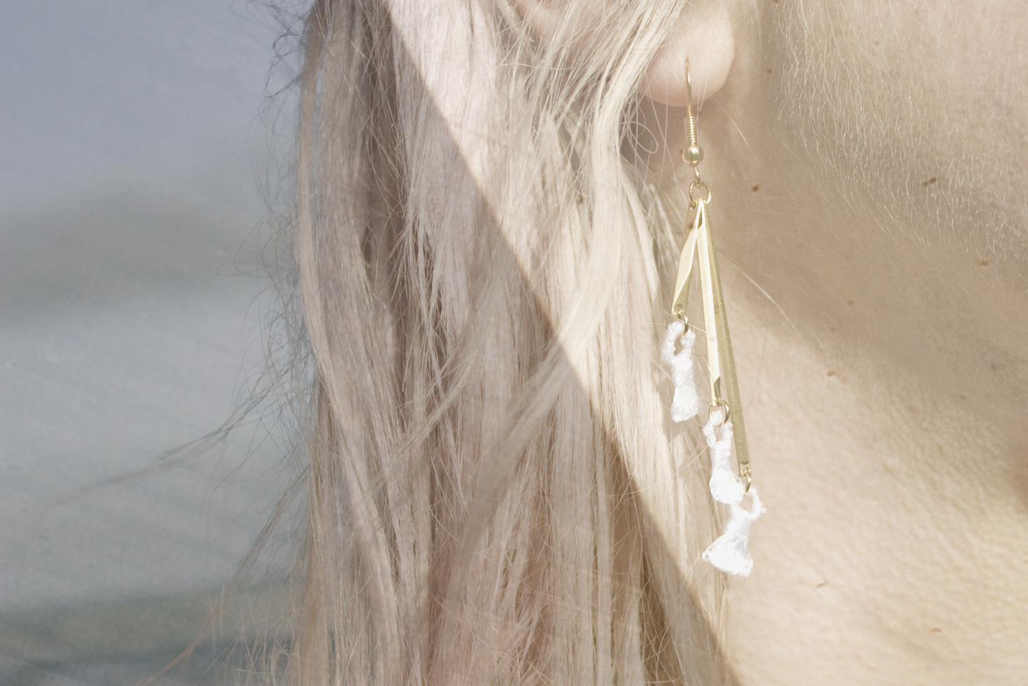 Nano tassels earrings (details here)