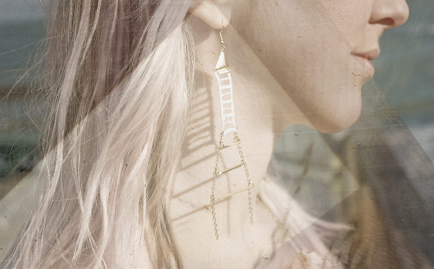 Rope Ladder earrings (SOLD OUT)