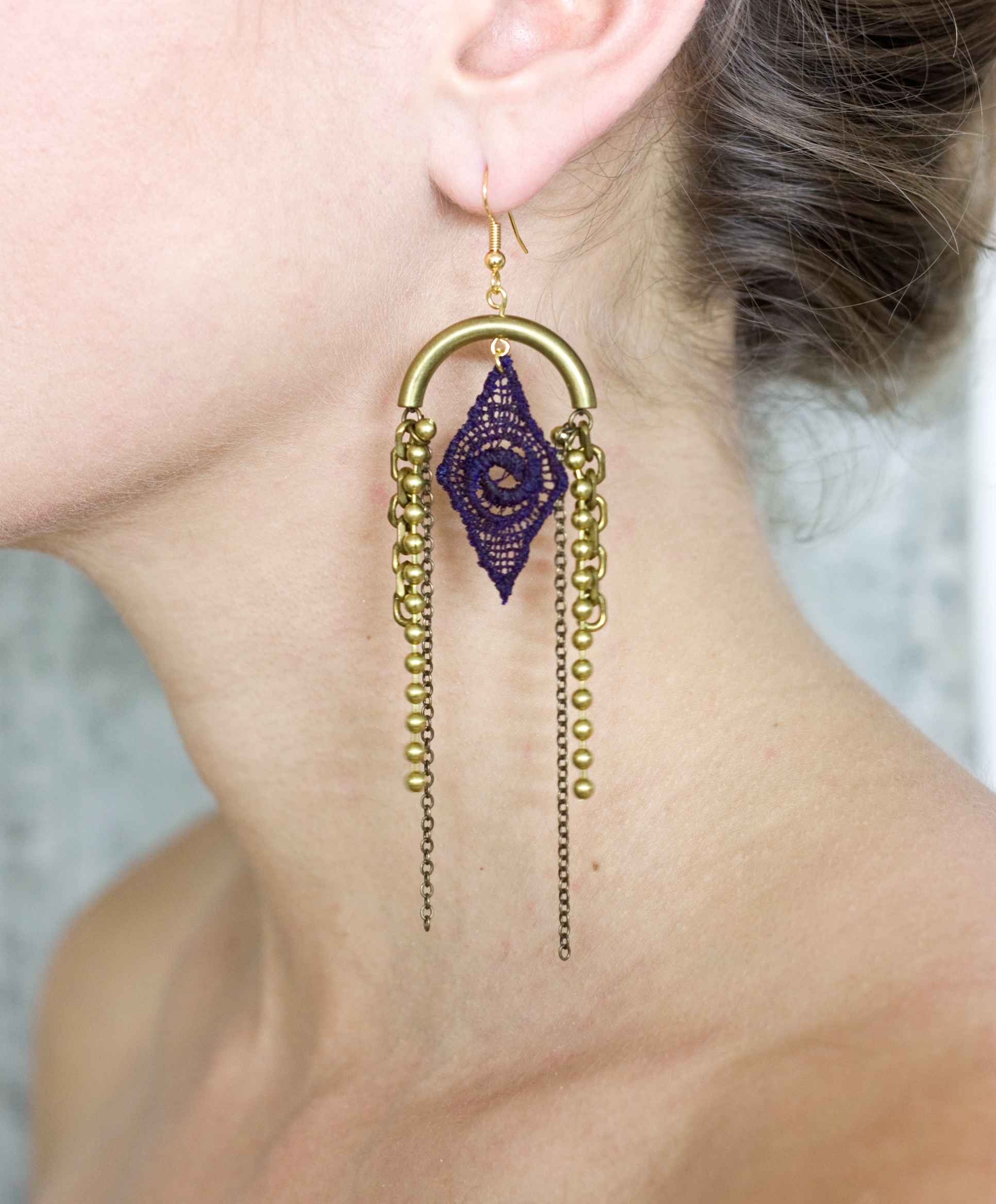 Gatsby earrings (SOLD OUT)