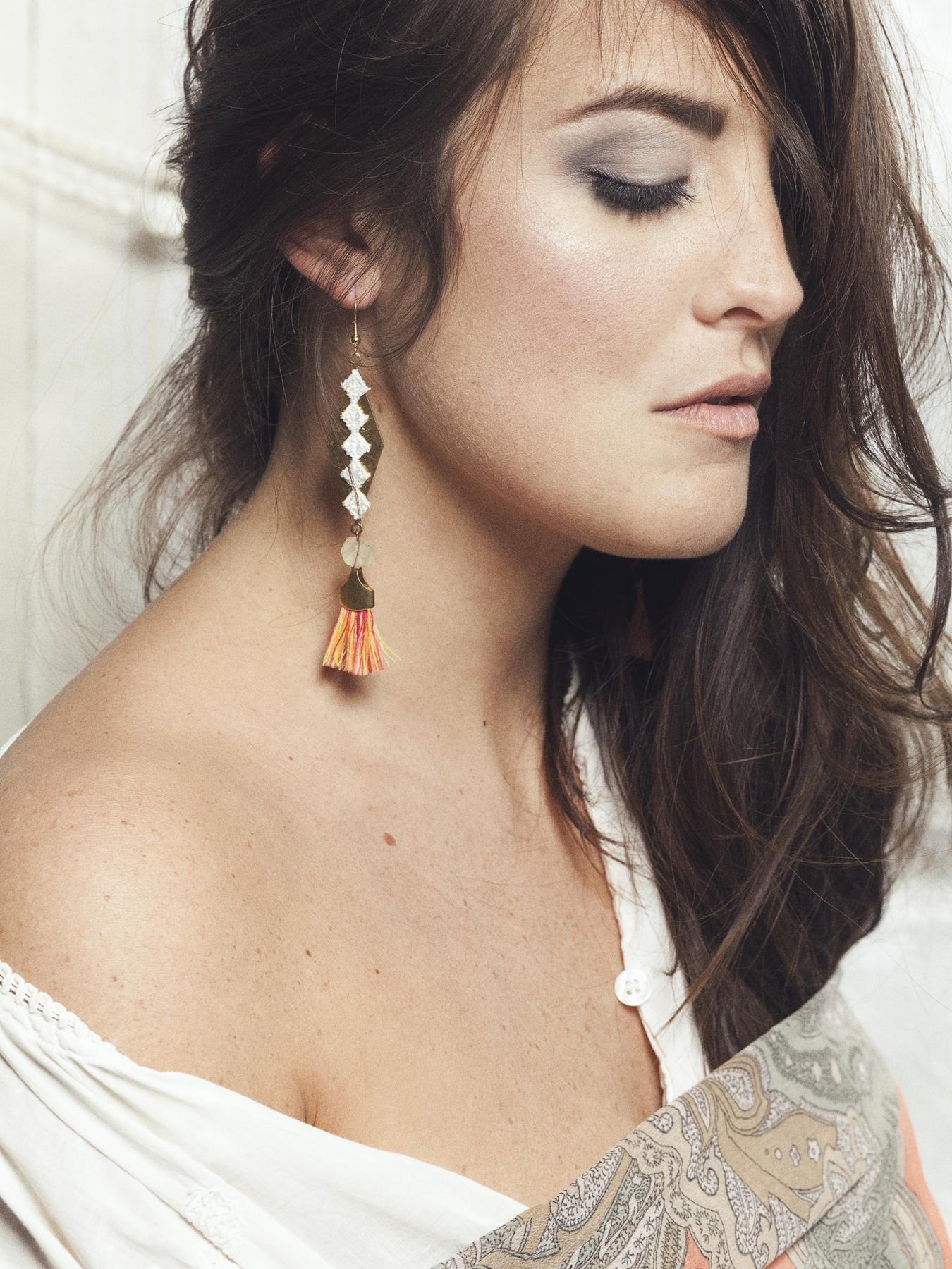 Cali earrings (details here)