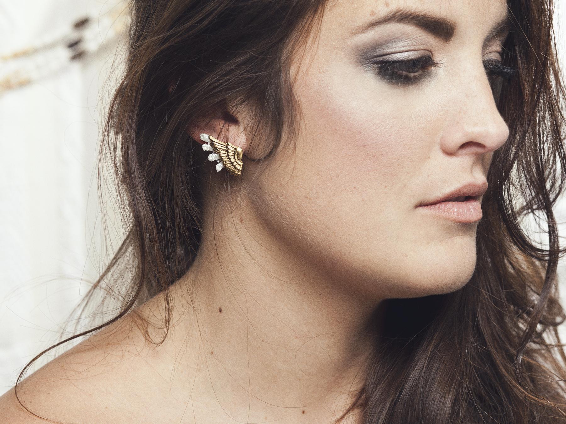 Talaria earrings (details here)