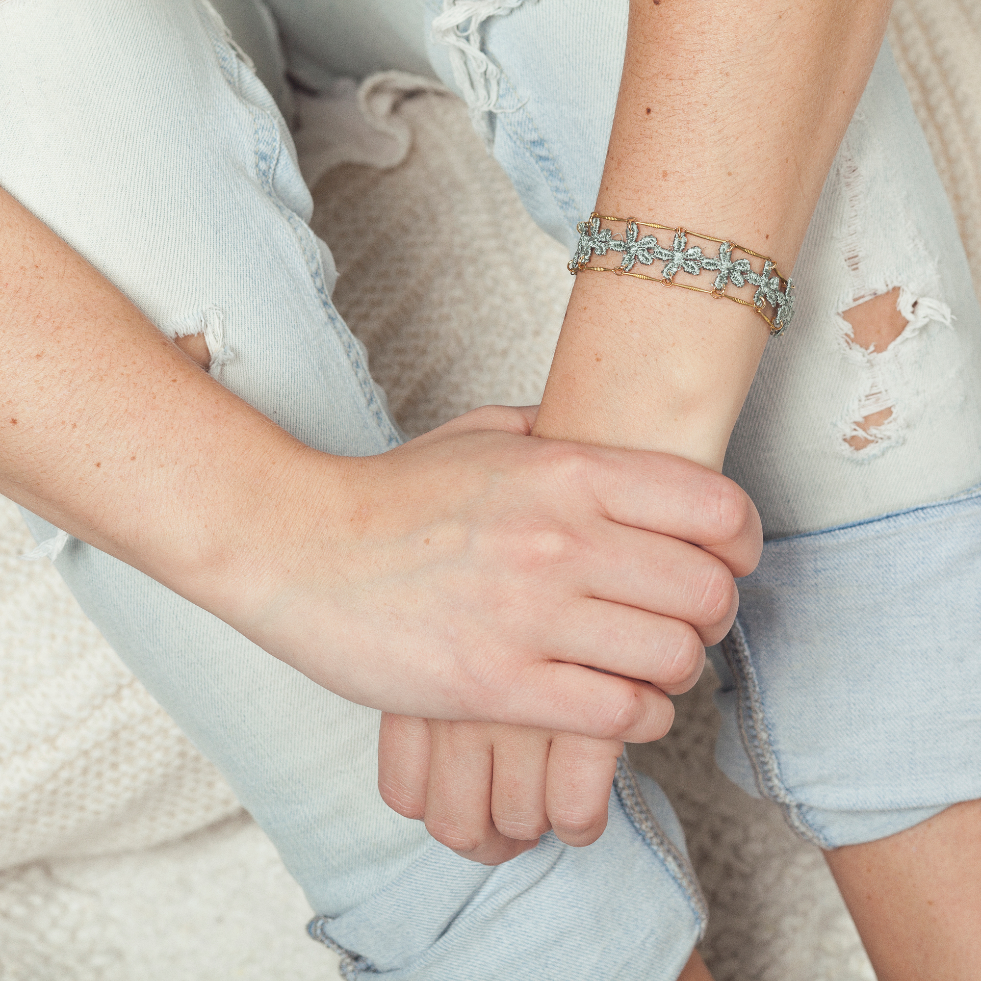 Amalfi bracelet (details here)