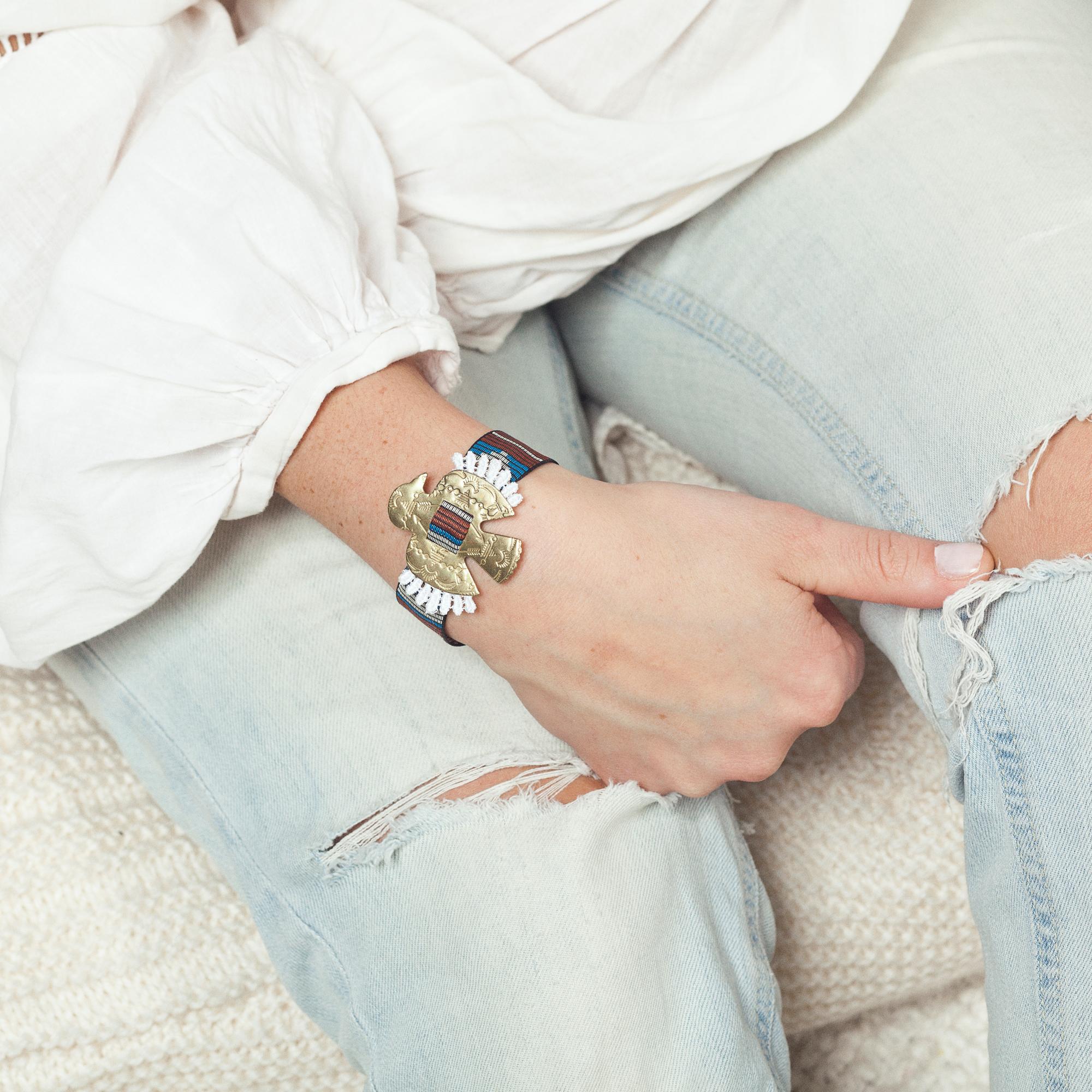 Oaxaca bracelet (details here)