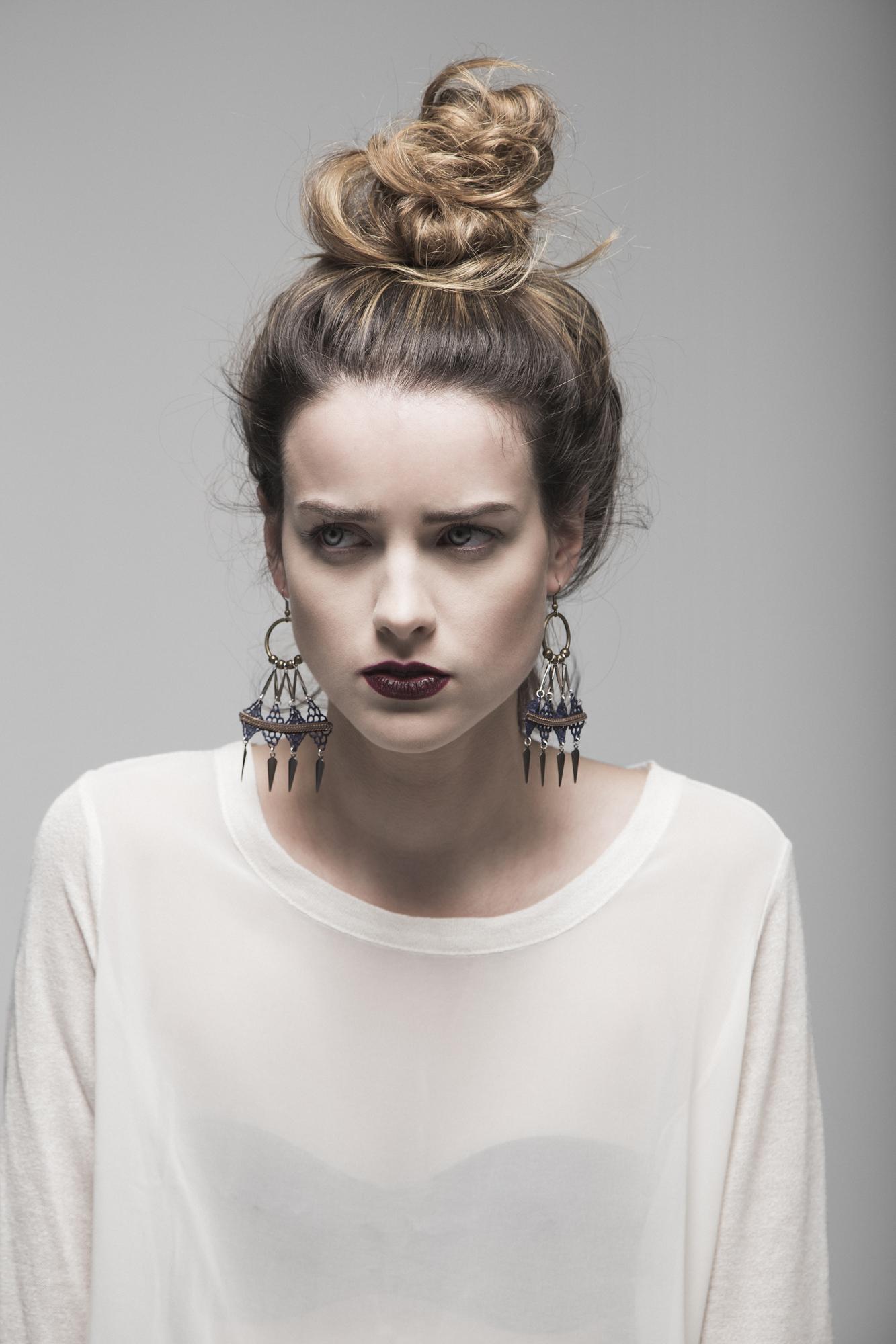 Array earrings (details here)