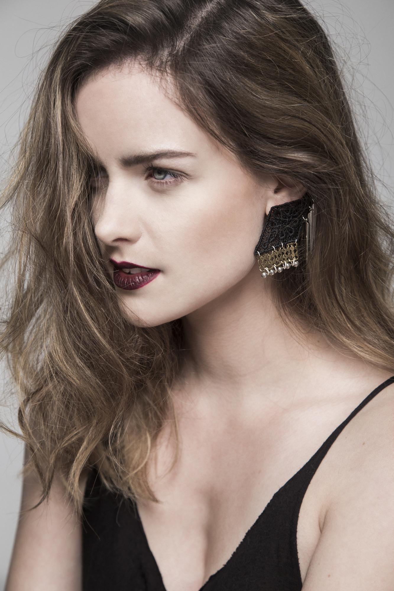 Drop Shadow earrings (details here)