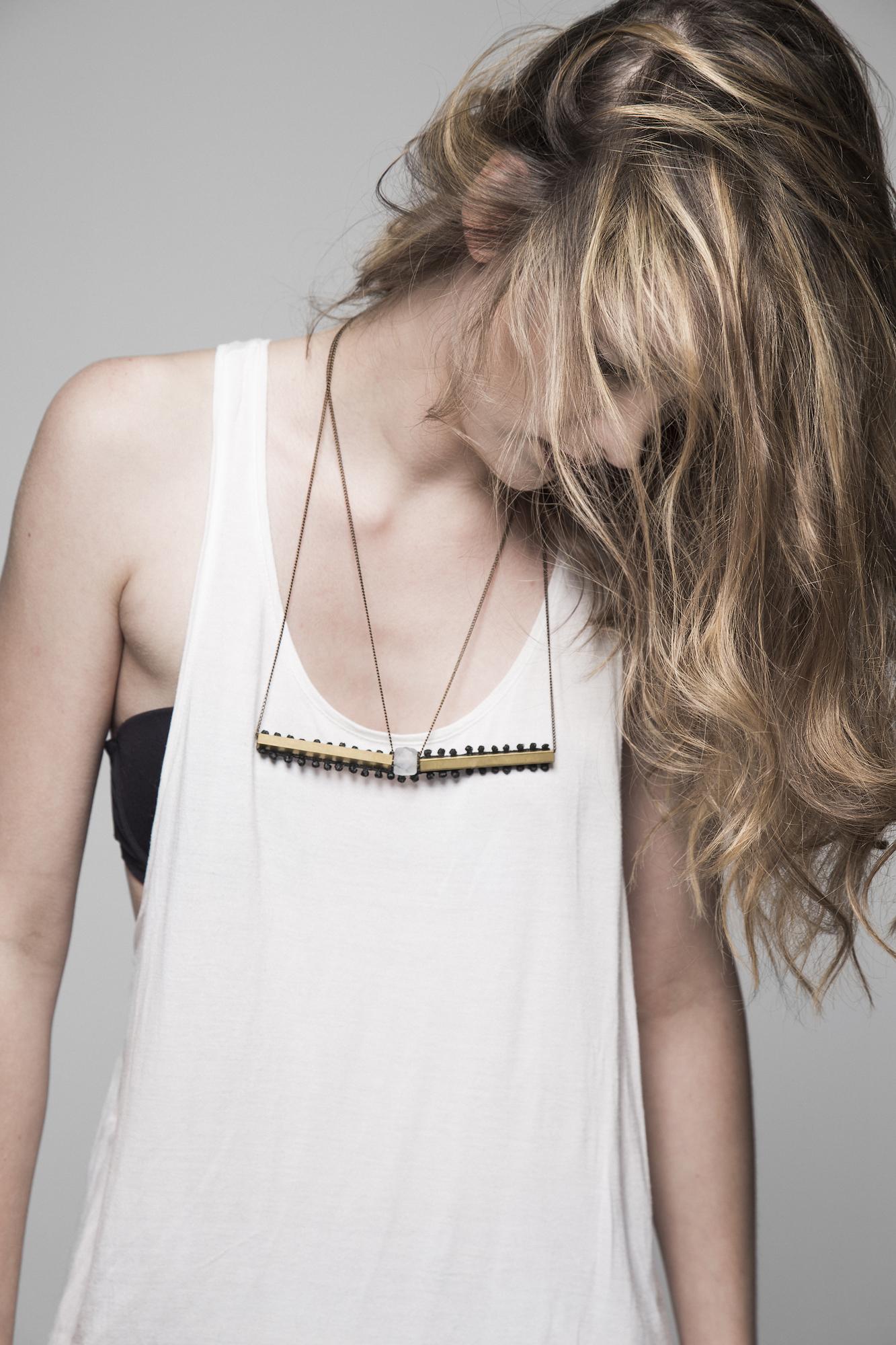 Horizon necklace (details here)