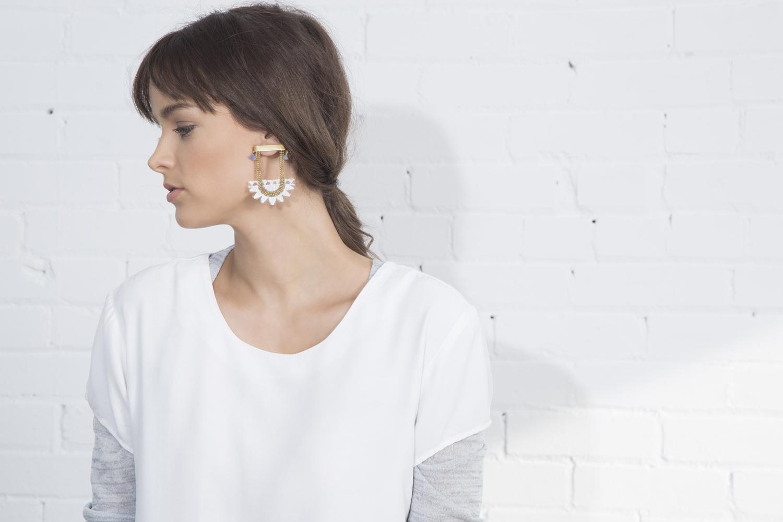 Sunrise earrings (details here)