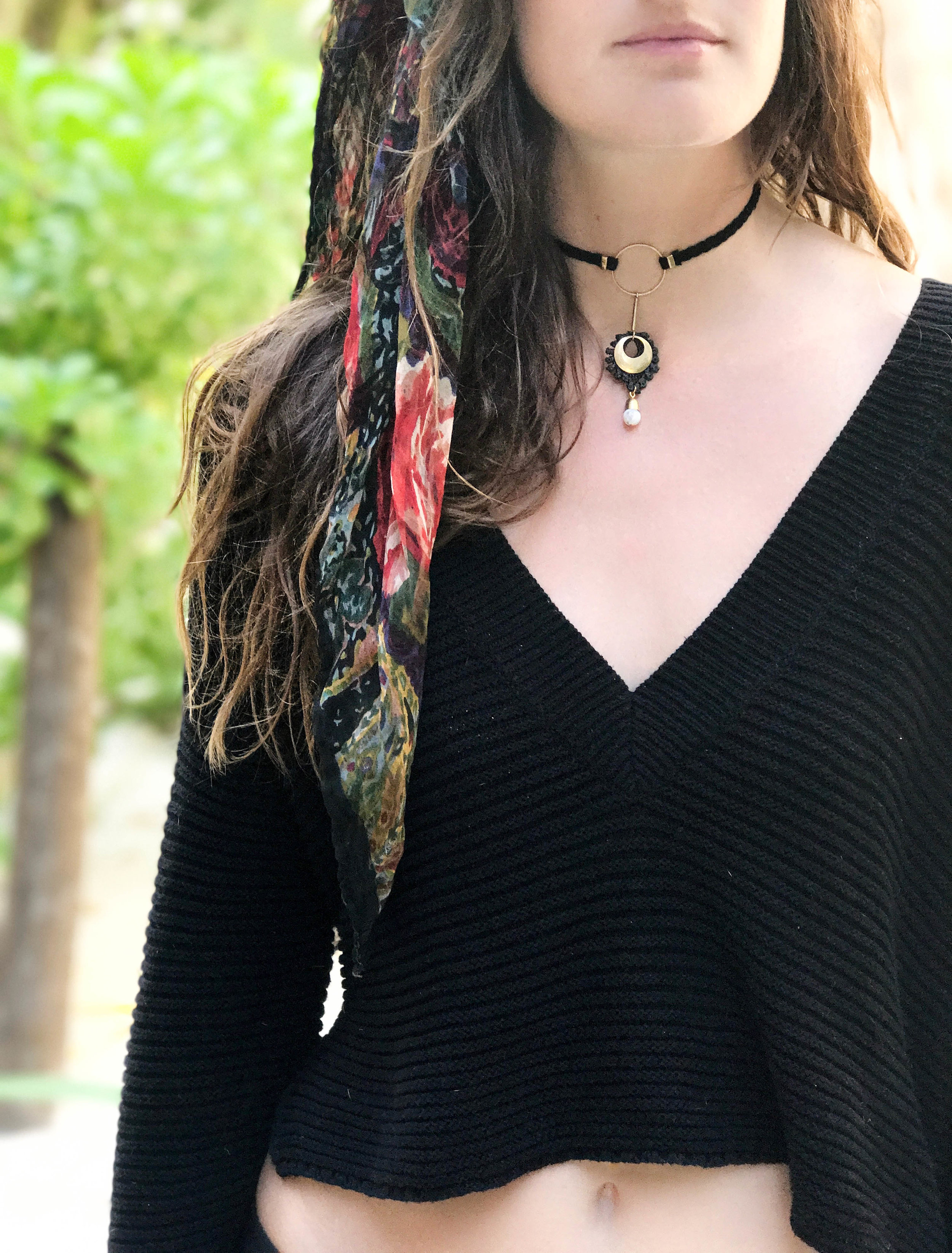 Artillery necklace choker (click here for details)