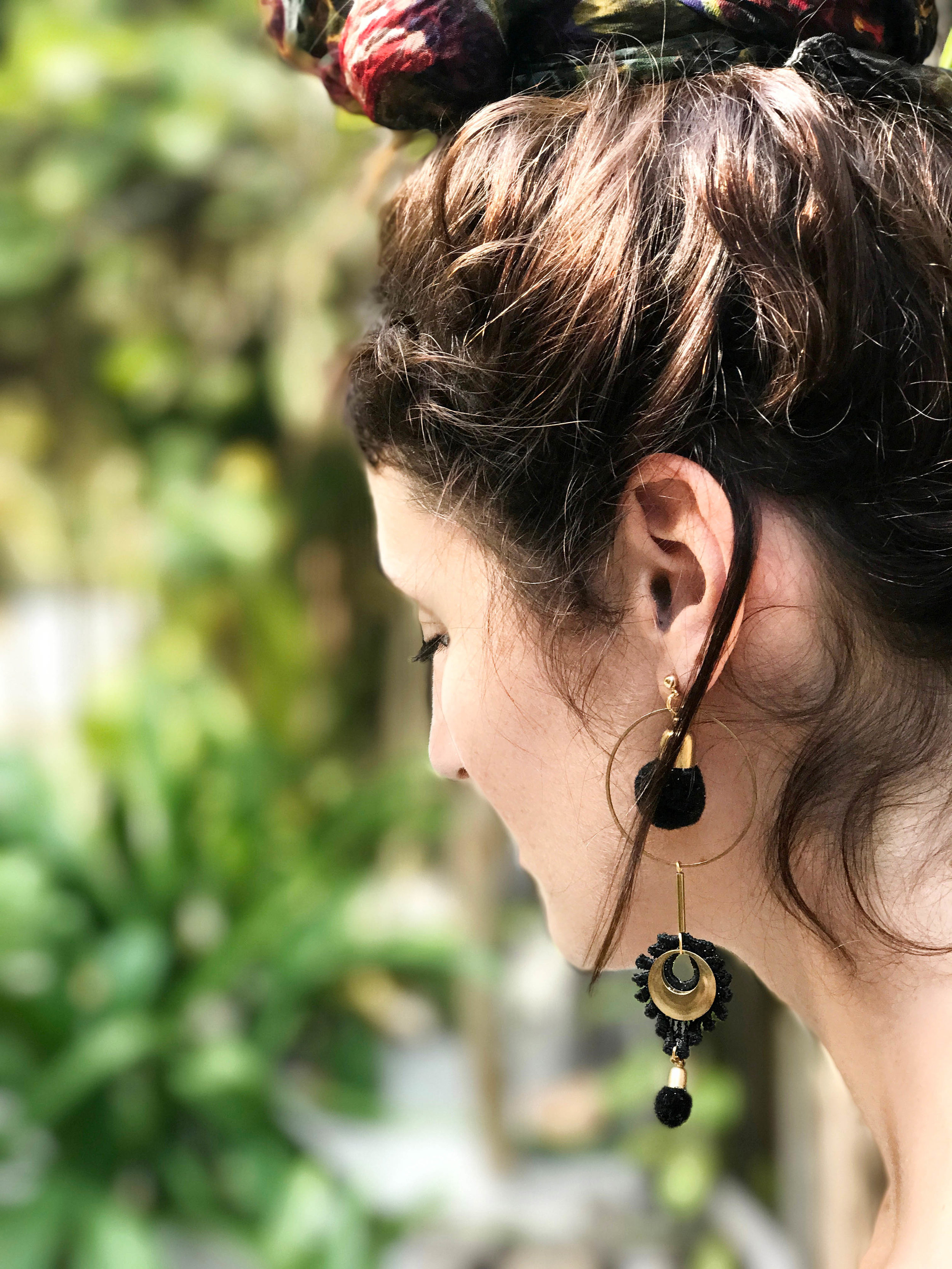 Artillery earrings (click here for details)