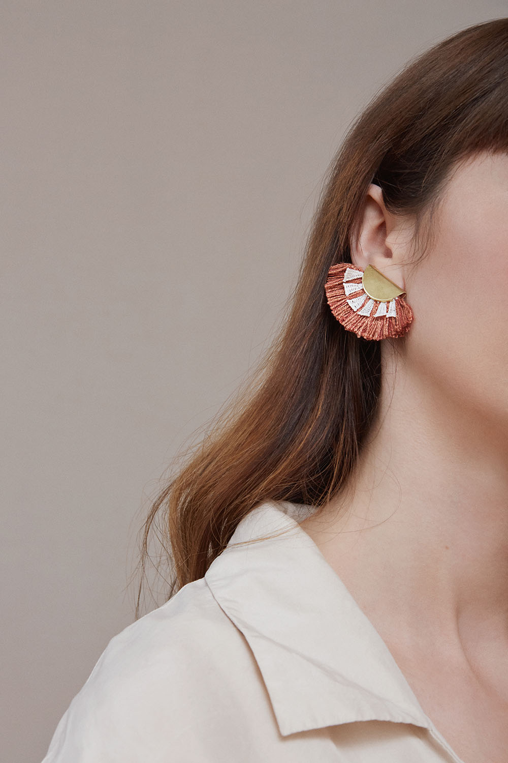 Matahari earrings (click here for details)