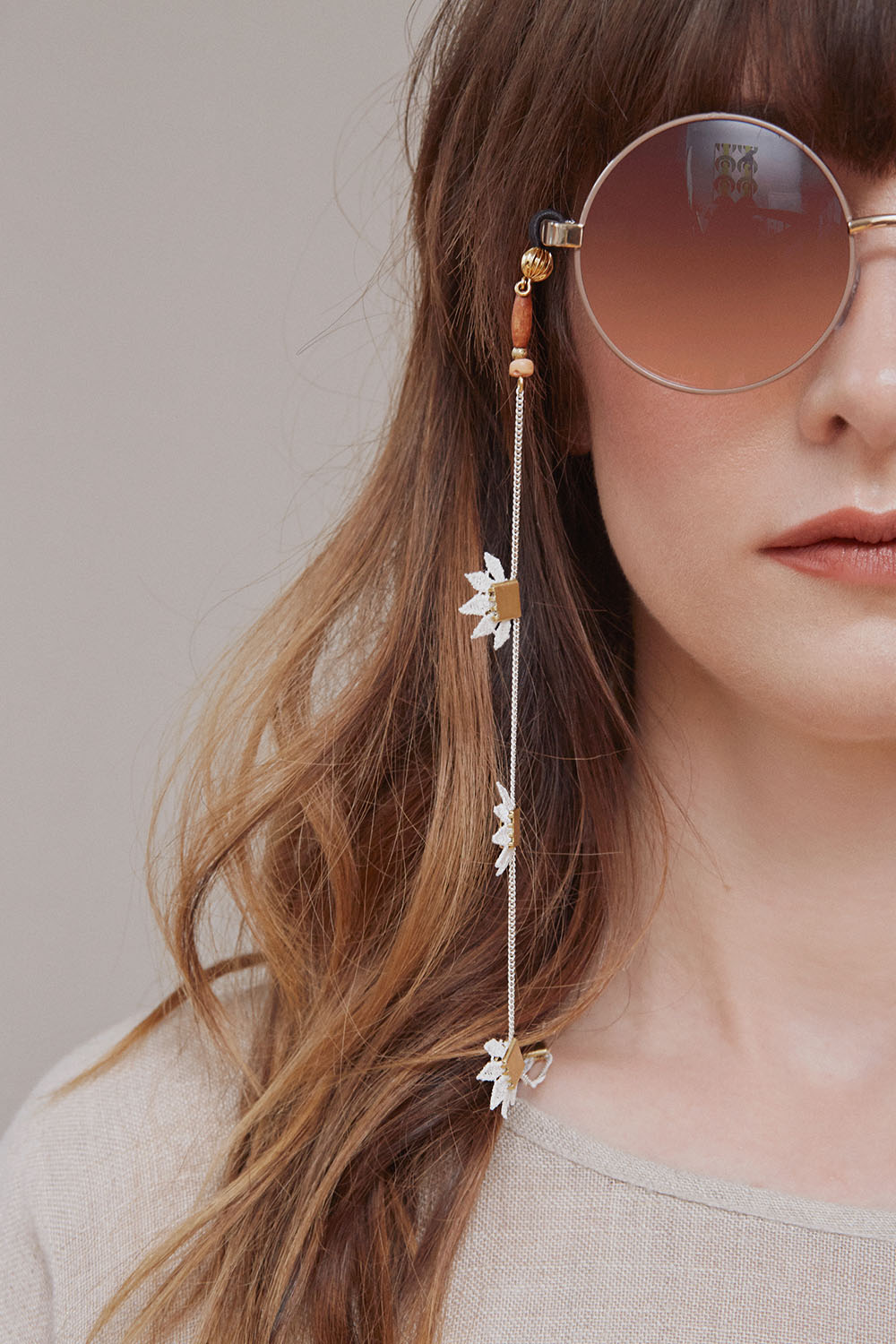 Pantai glasses chain (click here for details)