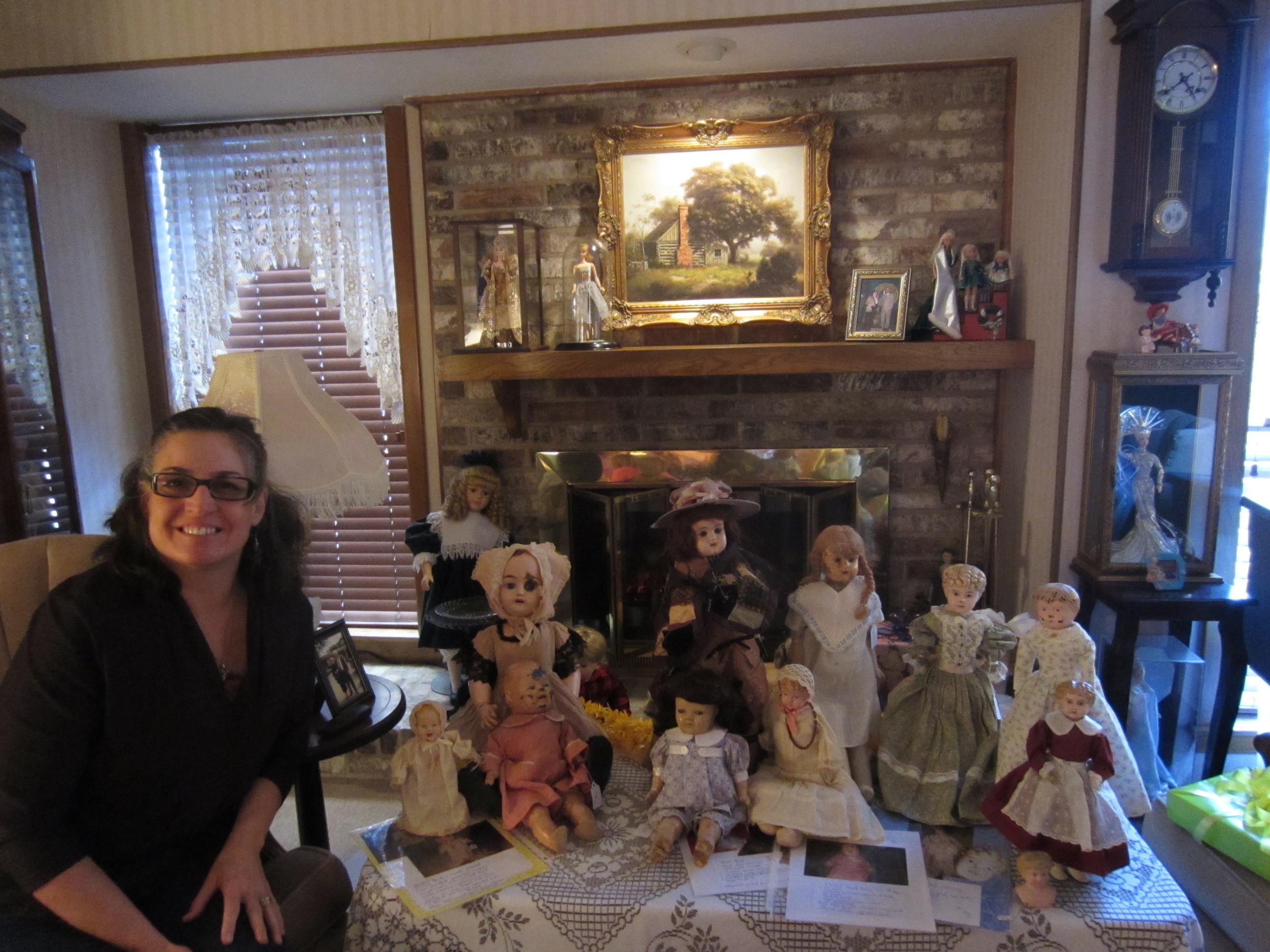 In January Mia presented the program on Metal Head dolls.