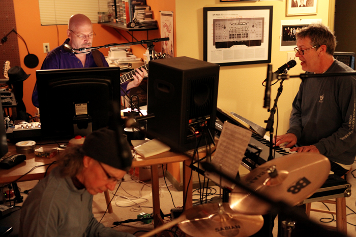 Mike Doolin on guitar & Ward Griffiths on drums