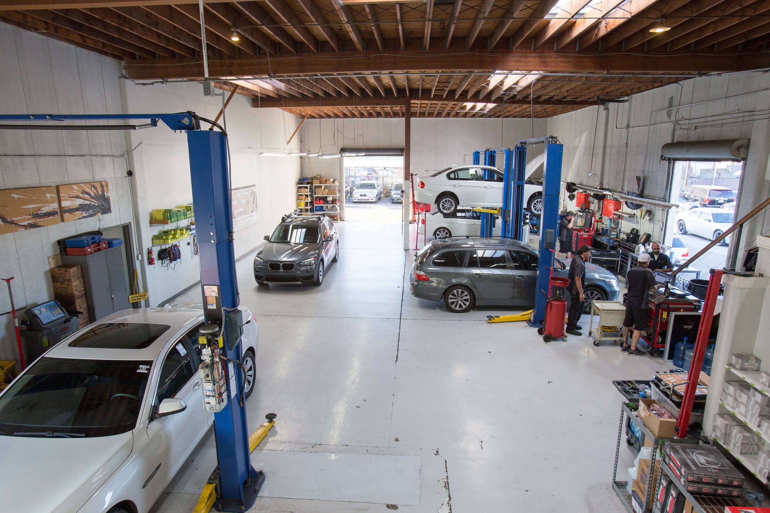 BMW services oil change San Diego