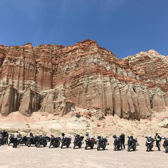 That's a lot of BMW's #bandbautohaus #r1200gs #somewherecalifornia