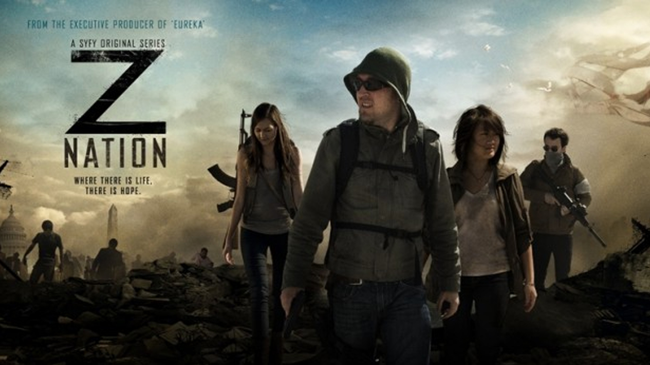 Strangely, it seems as though none of ZNation's poster-art features anyone from the show.