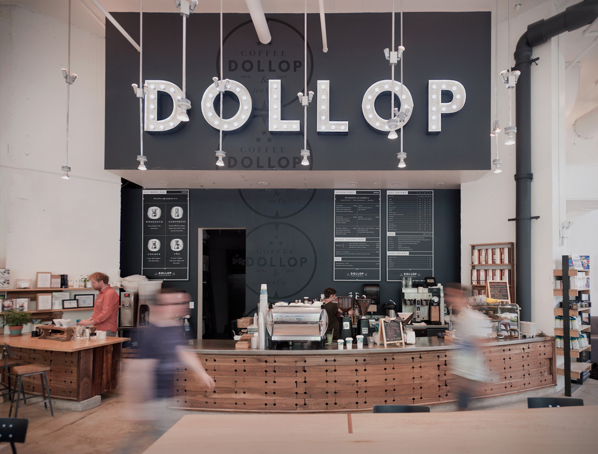 DOLLOP - Streeterville location for coffee & tea co.