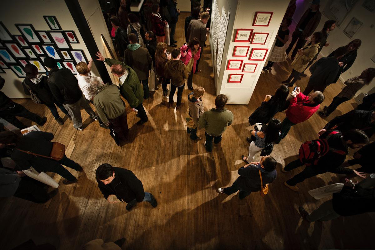 TYPEFORCE - annual showcase of emerging type-based artists + designers