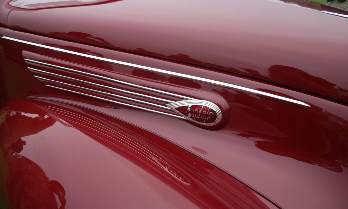 Lincoln Zephyr Convertible Coupe, 1938. Foto: Odette Jimenez