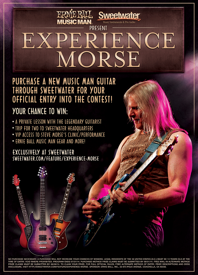Experience Morse Contest Poster