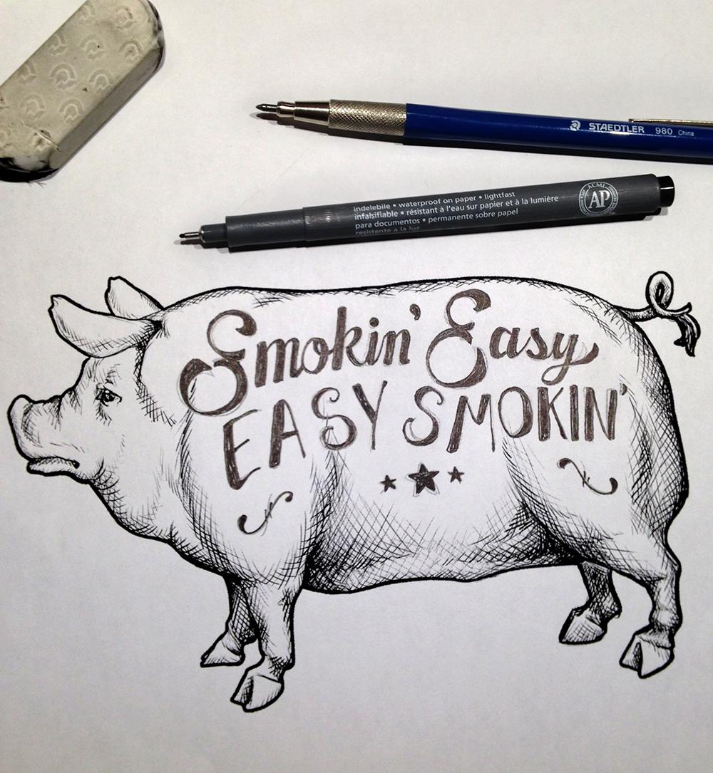 Smokin Easy Piggy