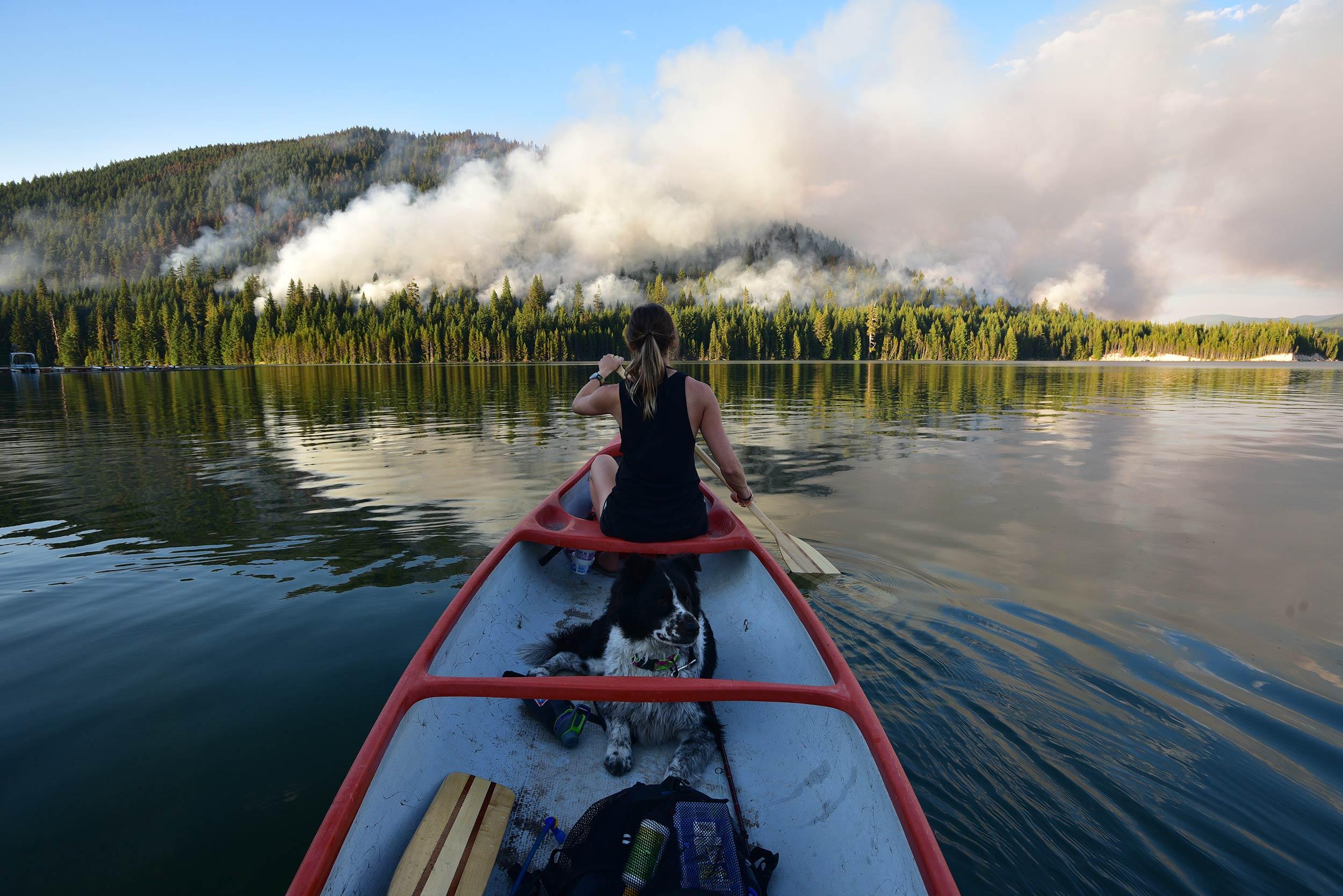 candice_dog_lake_canoe_fires.jpg