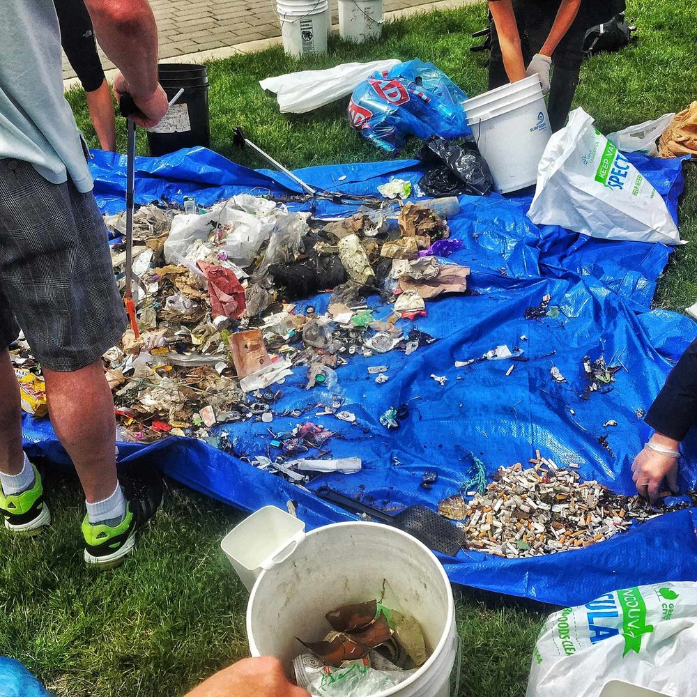 Beach Cleanup, Surfrider Vancouver