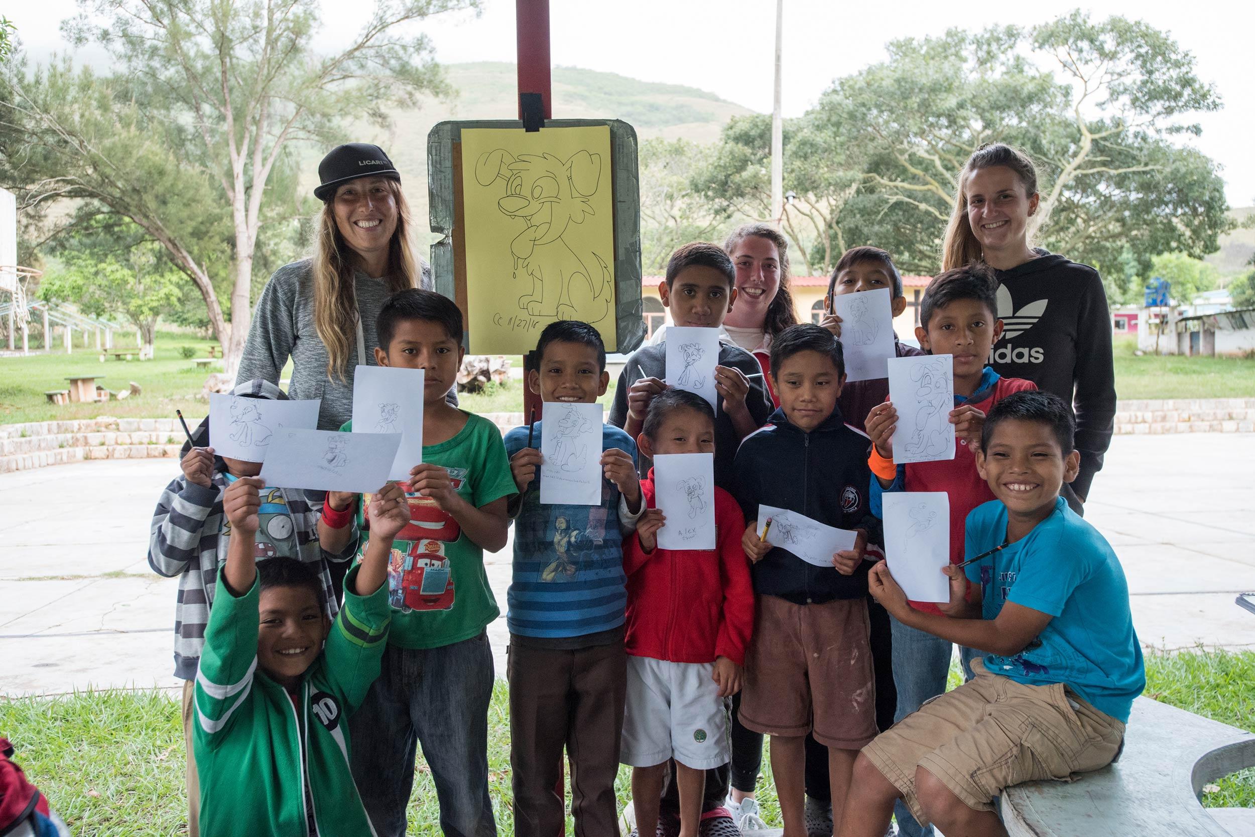 Hogar Infantil, Chiapas, Mexico