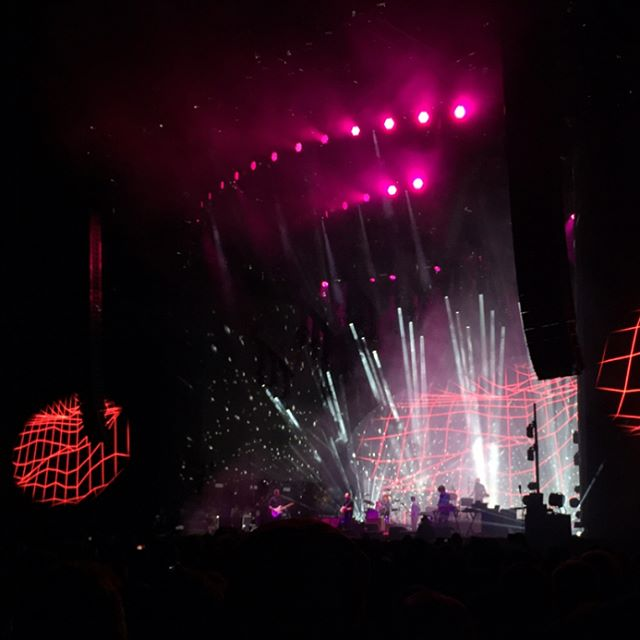 Yesterday was a great day of music! Glad I got to see Radiohead
