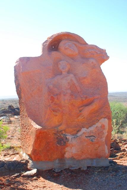 """""""Motherhood"""" - the Living Desert Sculpture Park"""