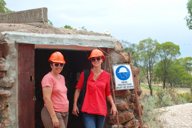 Opal mine - Lightning Ridge