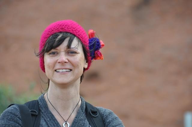 The author at Uluru
