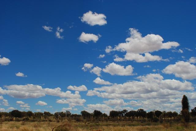 Landscape along the Stuart Highway
