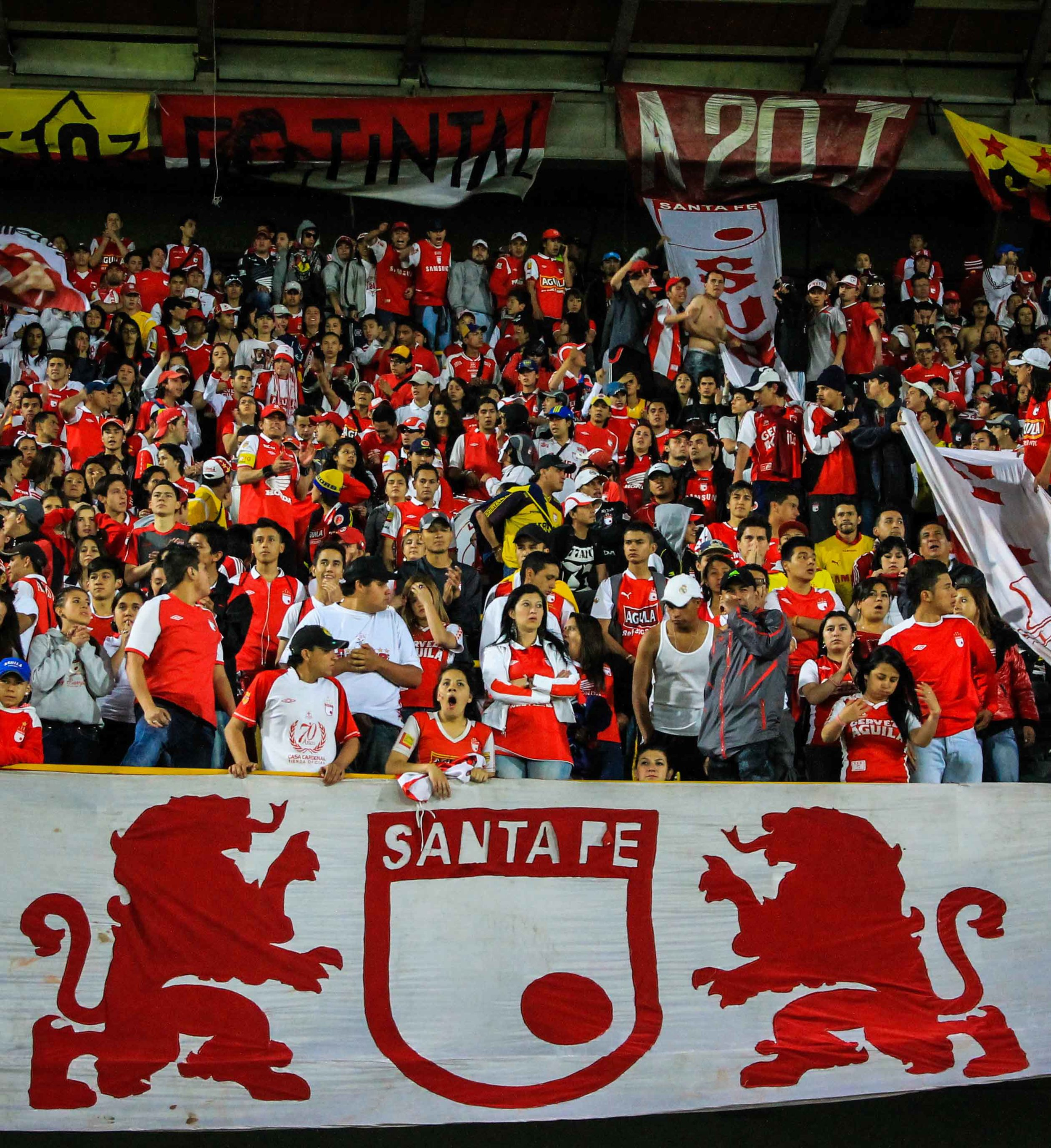 """Santafereños always carry """"the heart of a lion"""", they say."""