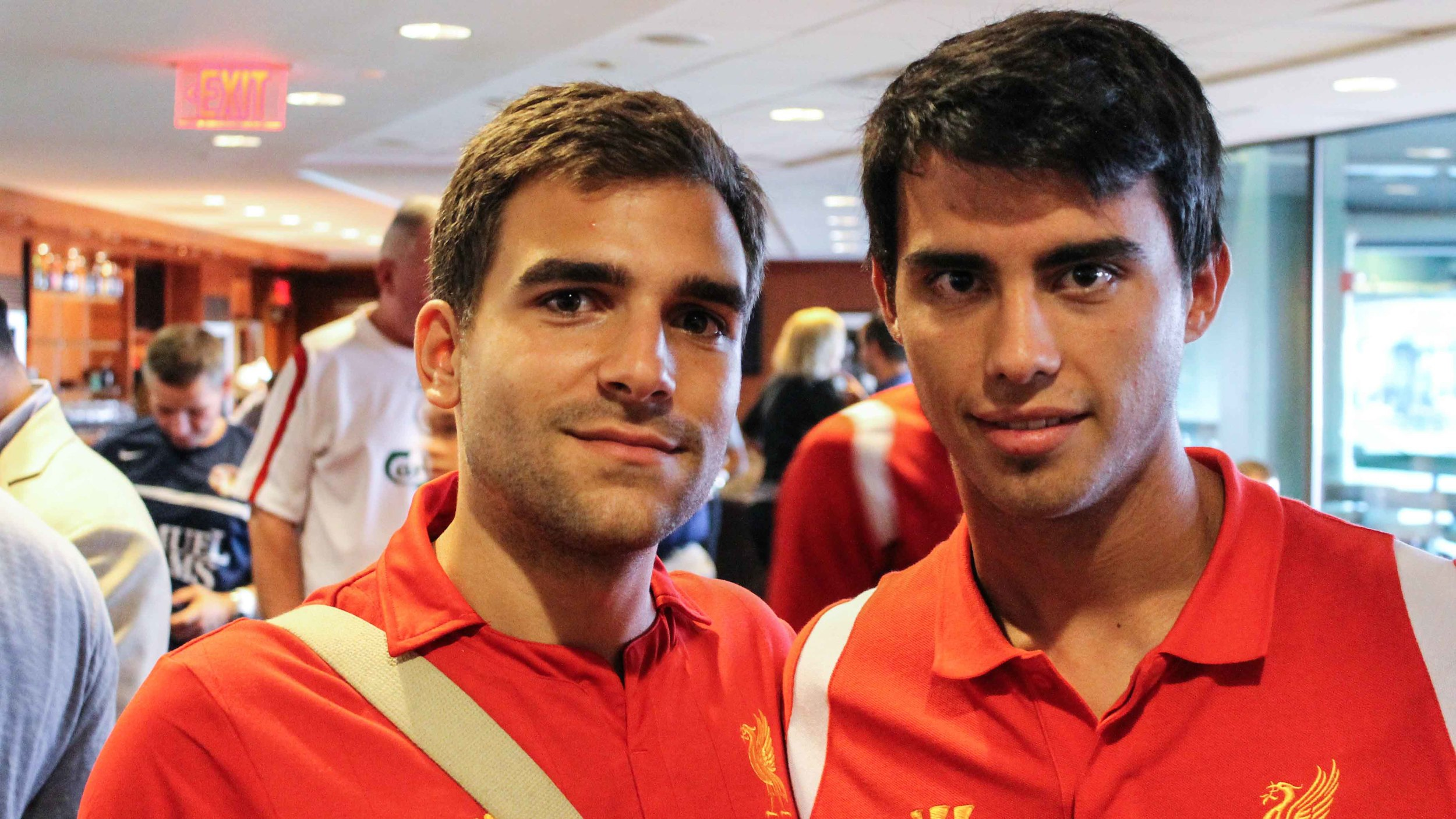 Pete & his brother from a Spanish mother, Suso.