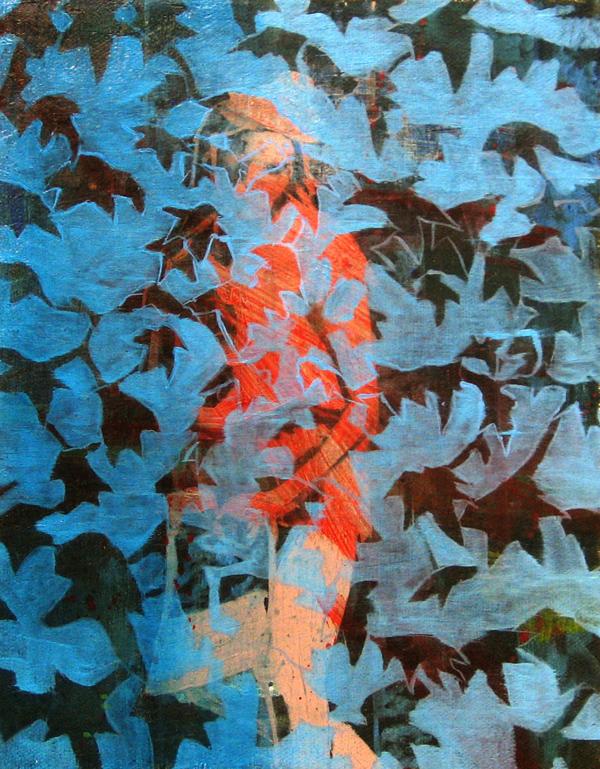 Shirley Jackson   10 x 8  Oil On Canvas  2011