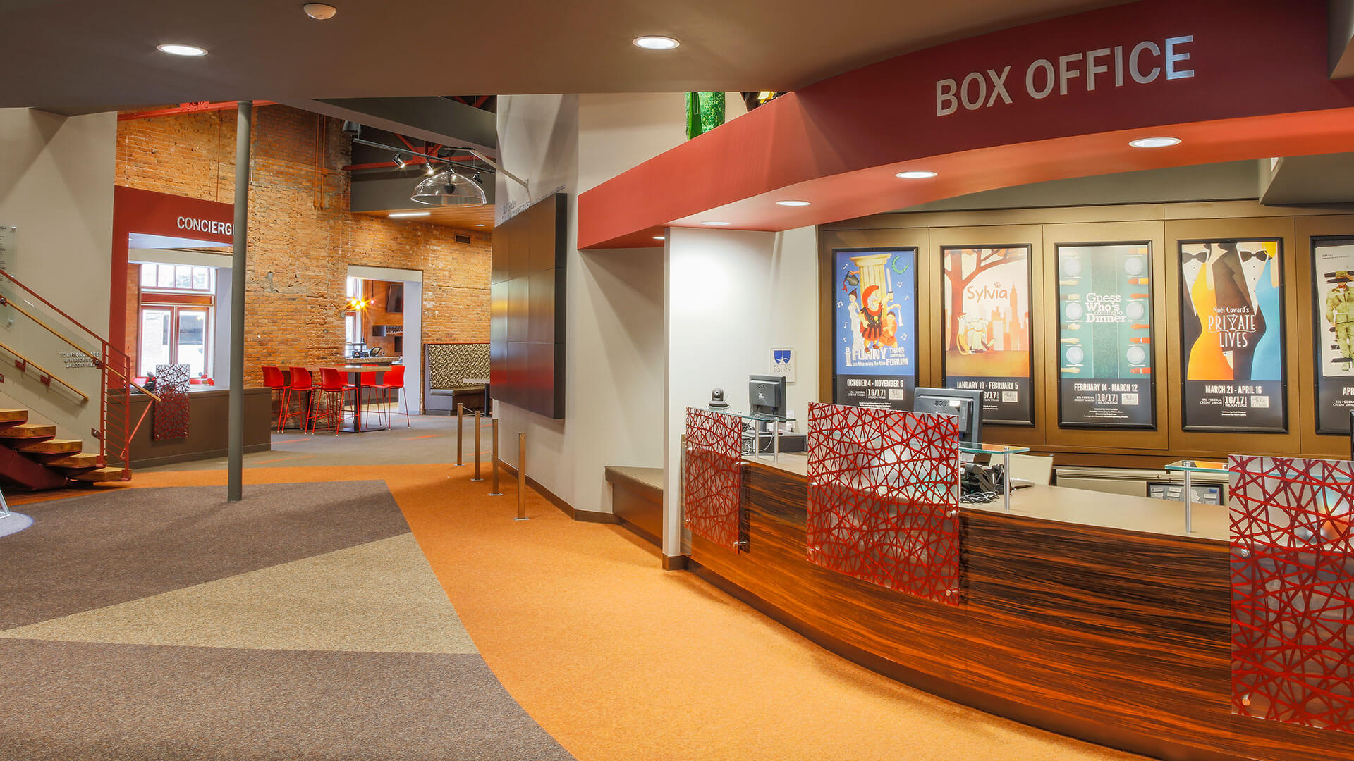 Manning Squires Henning Co. Inc., a union contractor, helped renovate the inside of Geva Theatre in downtown Rochester.